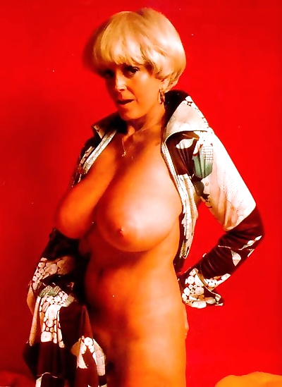 Busty blonde mature candy..