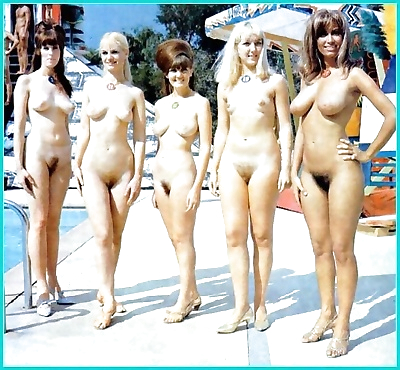 vintage Plaj nudist..