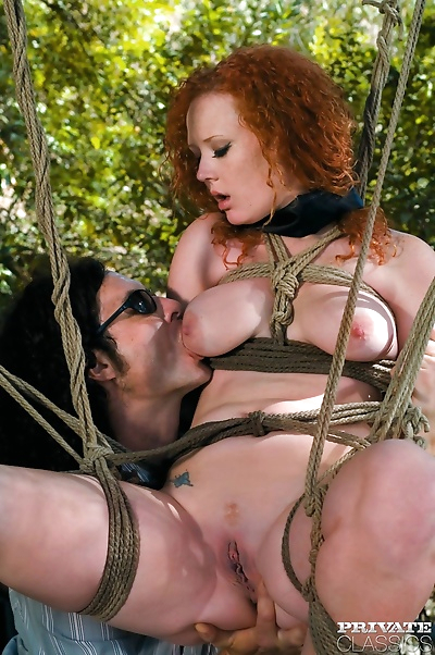 Top redhead pornstar audrey hollander assfucked in ropes - part 157