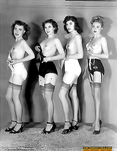 Group nude photos of hot ladies taken in 1950 - part 891